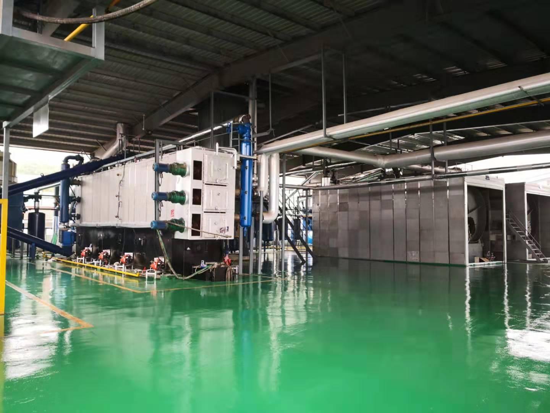 舟山岑港罐底油泥处置项目